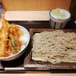 いわもとQ - 小天丼セット(620円)