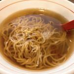彩華 - ラーメン(具無)