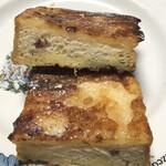 ハートブレッド アンティーク - あん食パンのフレンチトースト 断面