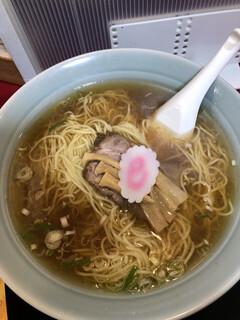 煮干らー麺 カネショウ - らー麺アップ