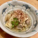 魚頭大熊 - 筍の土佐煮。