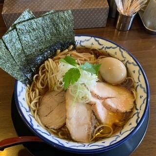 千葉房総 麺のマルタイ  - 料理写真:特製比内地鶏煮干しラーメン1080円