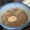 甍 - 料理写真:特製濃厚煮干つけ麺 味玉 肉増し
