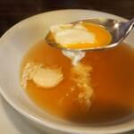 グリルエフ - コンソメスープ(ウズラ卵)