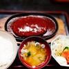 竹春 - 料理写真:でっけぇ〰️ハンバーグ定食