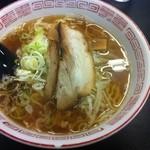 駅前食堂 - 煮干し中華そば(醤油)