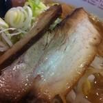 駅前食堂 - 煮干し中華そば(醤油/チャーシュー)