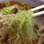 駅前食堂 - 煮干し中華そば(醤油/自家製麺)