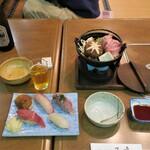 150990858 - 寿司.すき焼き