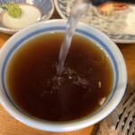 手打蕎麦 ちりん - 蕎麦湯