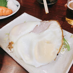 巣鴨ときわ食堂 - ハムエッグ 380円