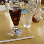 スパゲティハウス リトルジョン - アイスコーヒー