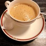 まつお - 食後のコーヒー