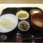 蓬左茶寮 - お食事