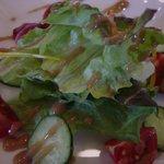 Living Cafe kurofune - セットのサラダ
