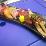 うみの華 - コース料理(にぎり寿司)
