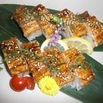 うみの華 - 穴子の炙り棒寿司