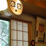 ガーデンカフェ マツムシコーヒー - 樽!なスピーカー