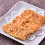 チャイナムーン - 海老のすり身と野菜の湯葉巻き揚げ