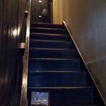 ランバン - 二階へ登る階段。