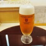 鮨 一心 - 生ビールはプレモルのマスターズドリーム