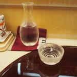 鮨 一心 - 冷酒(緑川)