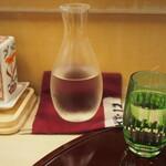 鮨 一心 - 冷酒(上喜元)