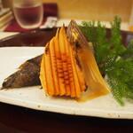 鮨 一心 - 竹の子焼き
