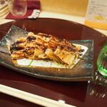 鮨 一心 - 穴子つまみ & 冷酒(上喜元)
