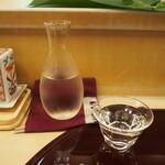 鮨 一心 - 冷酒(豊久仁)