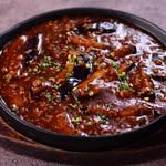 茄子と挽肉の鉄板焼き【税込】