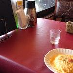 たんぽぽ - テーブルの上