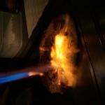 鉄板kitchen DAI - 鉄板ピザ