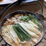 猪料理 やまおく - 猪鍋(一人前)
