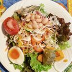 151012101 - ランチメニューA(1500円)/大盛りサラダ