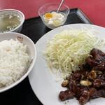 中国家庭料理 上海や - とんてきセット