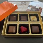 とことわ - パカッ♡オレンジ色のオシャレな箱です(o^^o)