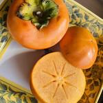 とことわ - サクサクとしてサラダみたいにいただける和歌山の名産・富有柿。