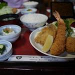 かつ源 - 【かつ源定食】¥1800