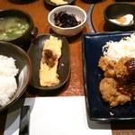 藤原 - 鶏カツ定食