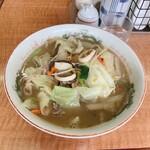 おんがラーメン - 遠賀の細麺チャンポン 800円