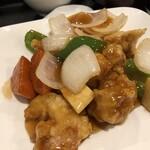 香蘭飯店 - 〇酢豚定食990円