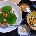 まぐろや雄司 - 家康・味噌たたき丼アジ使用(ランチ)