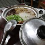 鍋焼うどん アサヒ - 鍋焼玉子うどん