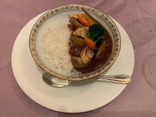 シェラトン都ホテル東京 - カレーライス