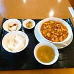 川菜味 - 料理写真:麻婆豆腐ランチ