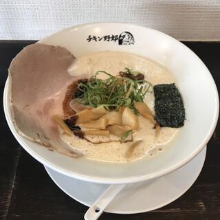 らーめん FLYINGチキン野郎 - 料理写真:豚骨マー油フライング