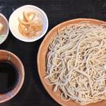そば処 忠次郎蔵 - 料理写真:十割もり蕎麦の大盛り