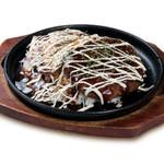 肉食堂 智 - 昔懐かしい肉屋秘伝の逸品                 『名物!牛カツライス』
