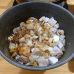 つけ麺 夢人 - 炙りチャーシュー丼250円